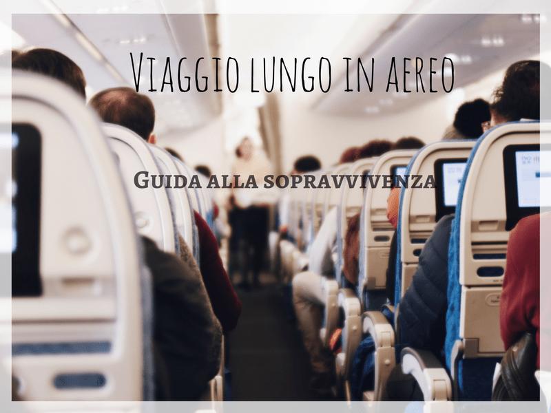 Viaggio lungo in aereo