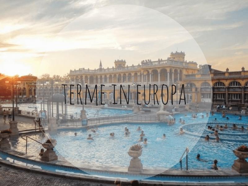 terme in Europa