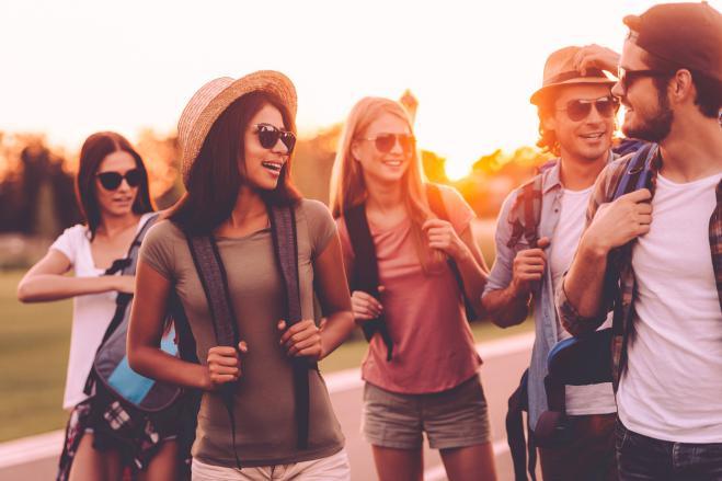 viaggiare in gruppo
